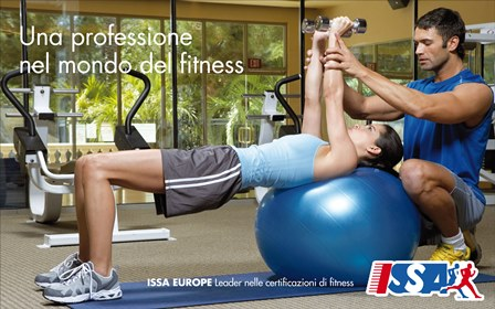 Corso Personal Trainer CFT3 2021 ISSA Europe